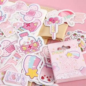 Kawaii Planner & Diary Stickers (46 pc)-UwU Things