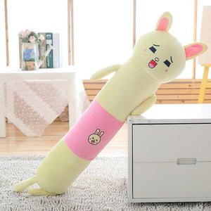 Long Boy Animal Body Pillow-UwU Things-90cm (3 ft)-White Rabbit-UwU Things