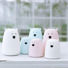 Load image into Gallery viewer, Luminous Bear Family Night Light Lamp-UwU Things