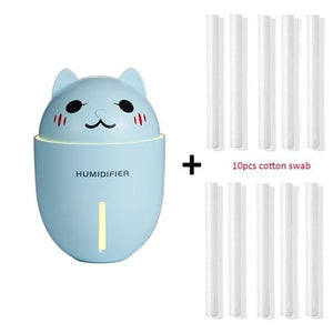 Multi-Purpose OwO Cat Humidifier-UwU Things-Blue and 10 filters-UwU Things