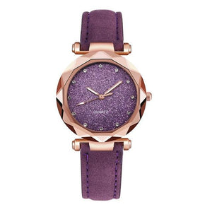 Romantic Starry Sky Wrist Watch-UwU Things-Purple-UwU Things