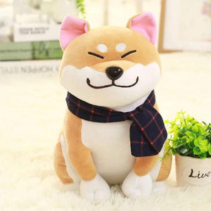 Smug Shiba Inu Plush-UwU Things-Cream-UwU Things