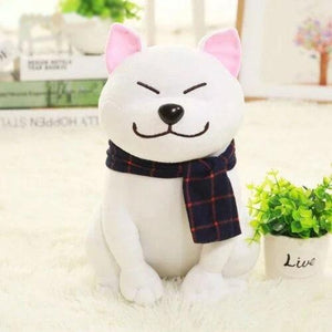 Smug Shiba Inu Plush-UwU Things-White-UwU Things