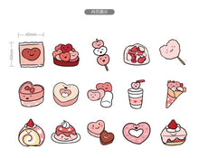 Load image into Gallery viewer, Sweet Treats Stickers (45 pc)-UwU Things-UwU Things