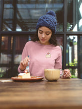 Load image into Gallery viewer, Tiny Strawberry Shortcake Graphic Sweatshirt-Apparel-Fuel-Light Pink-S-UwU Things