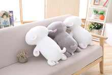 Load image into Gallery viewer, UwU & OwO Lying Cat Plush-UwU Things-35cm (14 inches)-UwU White Cat-UwU Things