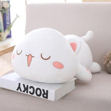 Load image into Gallery viewer, UwU & OwO Lying Cat Plush-UwU Things-65cm (26 inches)-UwU White Cat-UwU Things