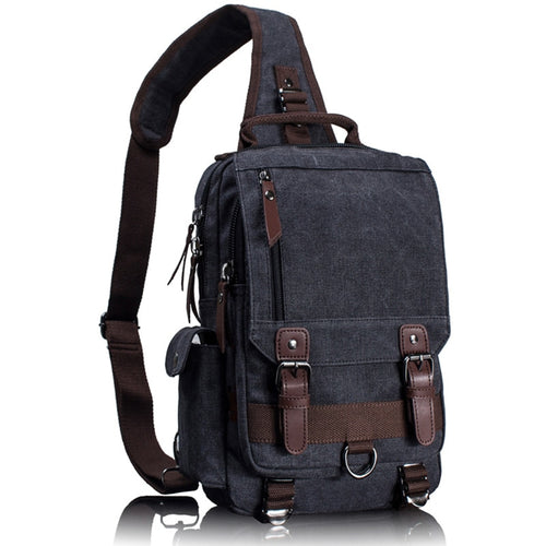 Canvas Crossbody Bag - Style For Guys