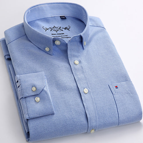 Oxford Dress Shirt - Style For Guys