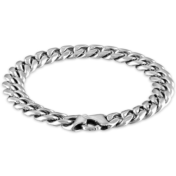 The Men's Corner Cuban Link (10) Chain Bracelet
