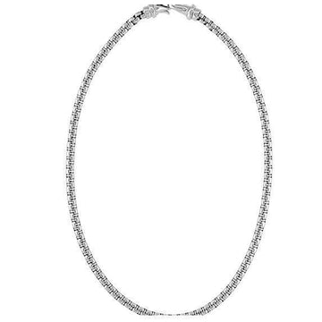 The Men's Corner Stainless Steel Rolo Chain, 22.25