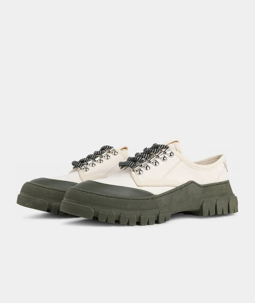 GARMENT PROJECT WMNS Twig Low - Off White / Army Sneakers 110 Off White
