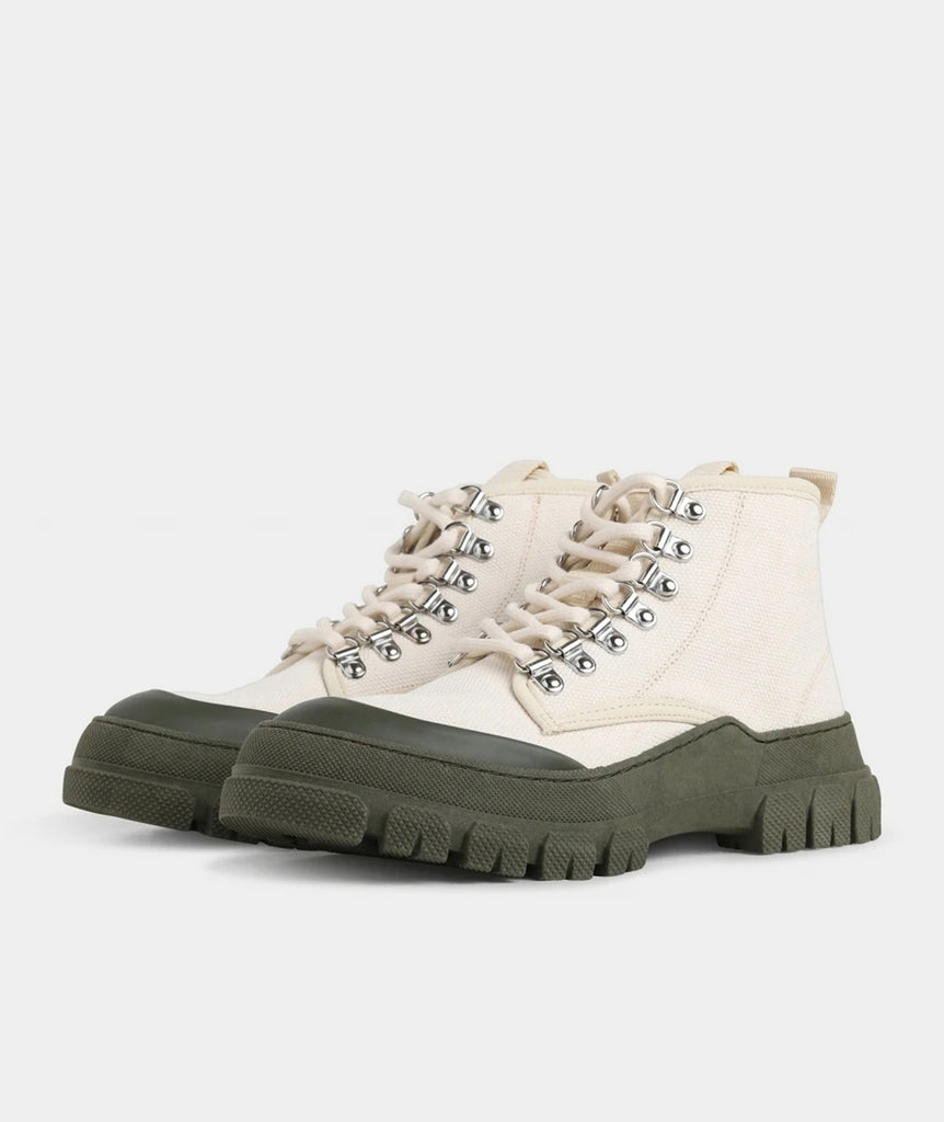 GARMENT PROJECT WMNS Twig High - Off White / Army Sustainable 110 Off White
