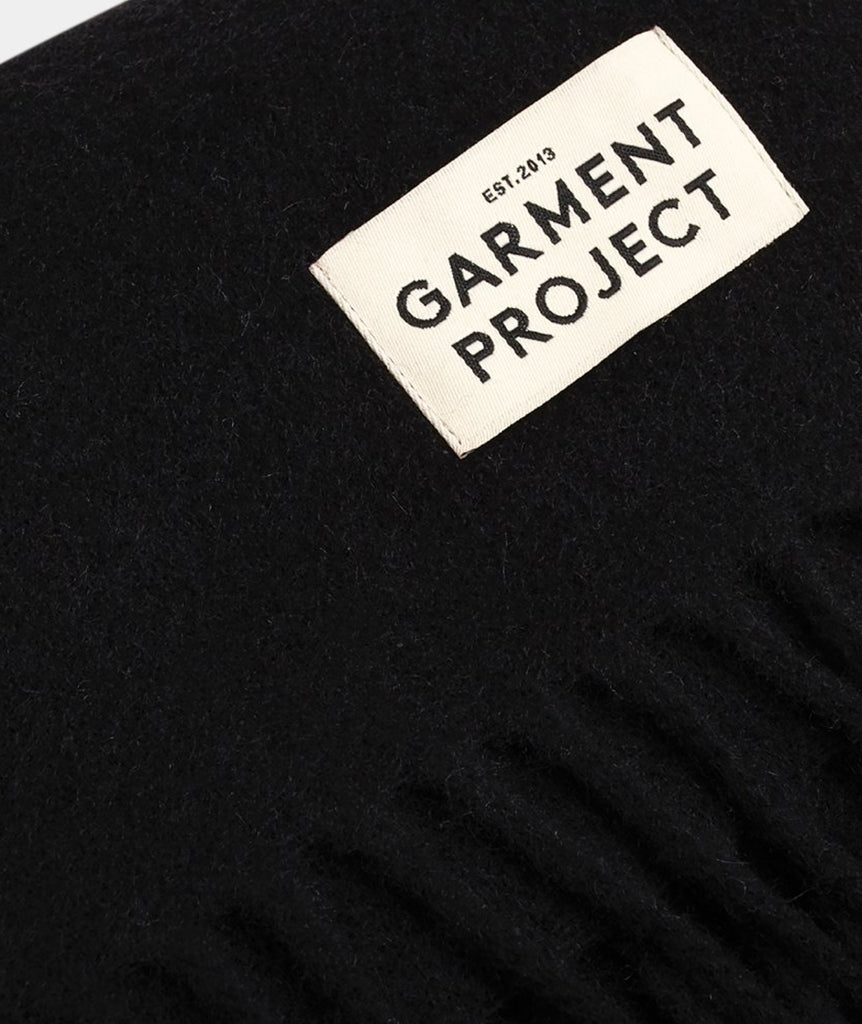 GARMENT PROJECT MAN Scarf / Black Scarf 999 Black