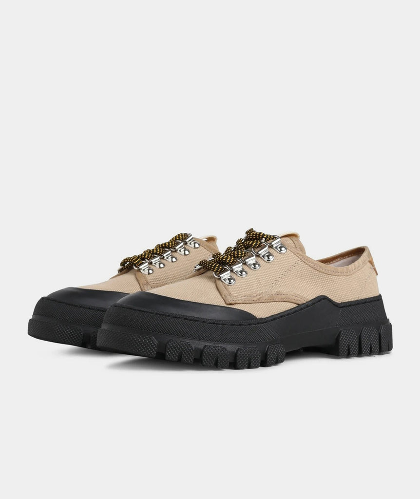 GARMENT PROJECT WMNS Twig Low - Taupe / Black Sneakers 140 Taupe