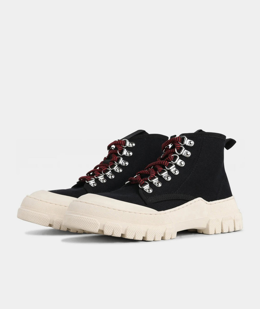GARMENT PROJECT WMNS Twig High - Black / Off White Boots 999 Black