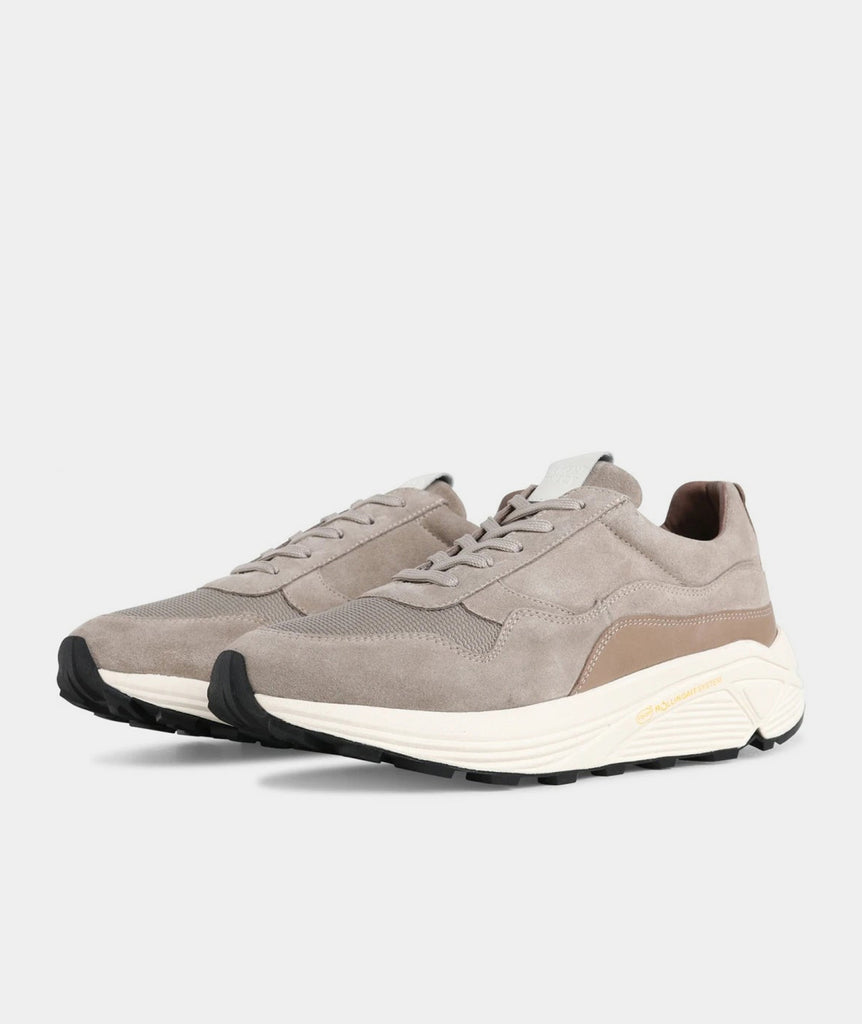 GARMENT PROJECT MAN Bailey Runner - Earth Suede / Off White Shoes 260 Earth