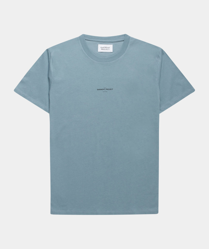 GARMENT PROJECT MAN Best Tee - Citadel Blue T-shirt 555 Citadel Blue
