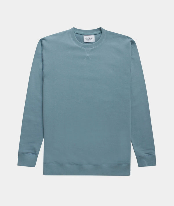 Crew Neck Sweat - Citadel Blue