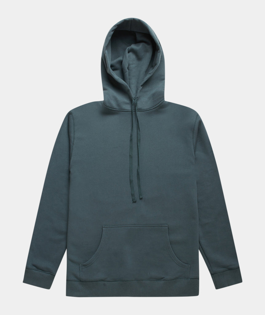 GARMENT PROJECT MAN Hooded Sweat - Balsam Green Hooded Sweat 245 Balsam Green
