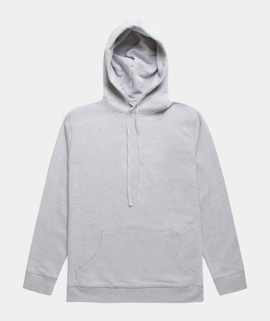 GARMENT PROJECT MAN Hooded Sweat - Grey Melange Hooded Sweat 333 Grey Melange