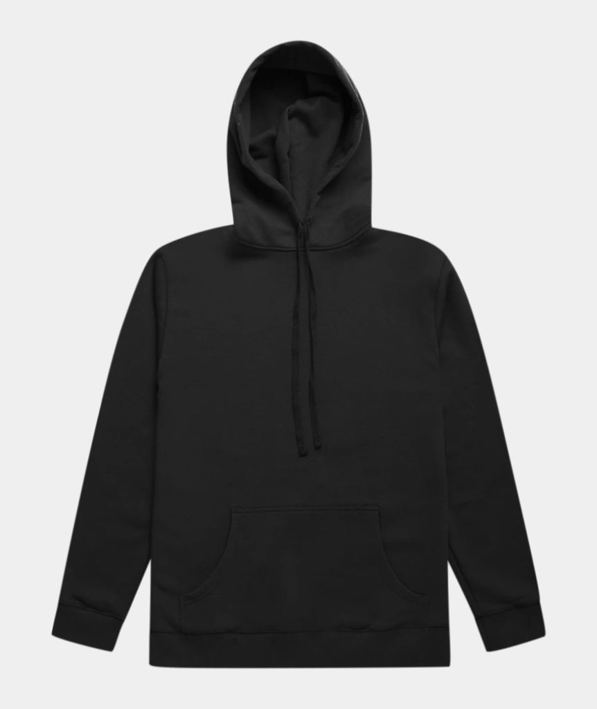 GARMENT PROJECT MAN Hooded Sweat - Jet Black Hooded Sweat 999 Black