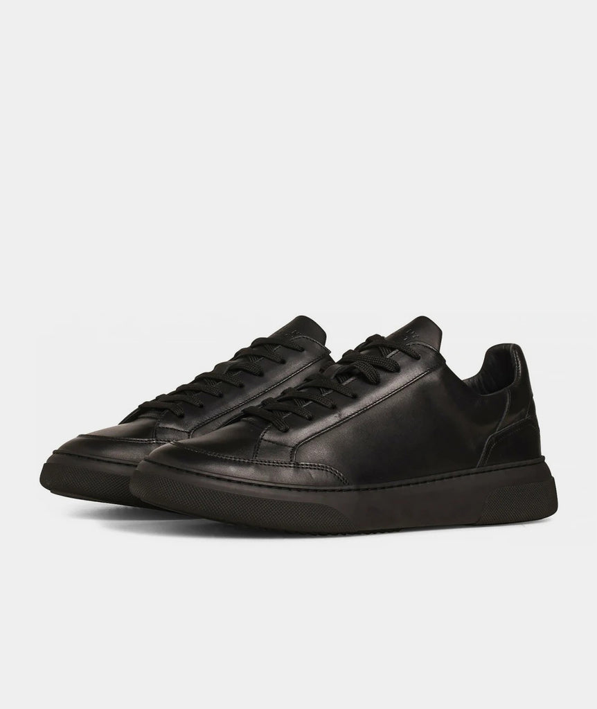 GARMENT PROJECT MAN Off Court - All Black Leather Shoes 999 Black