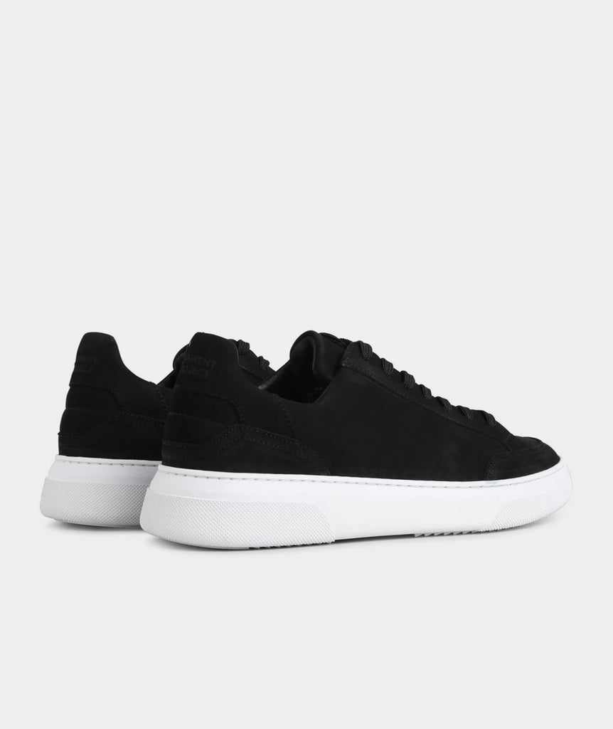 GARMENT PROJECT MAN Off Court - Black Nubuck Shoes 999 Black