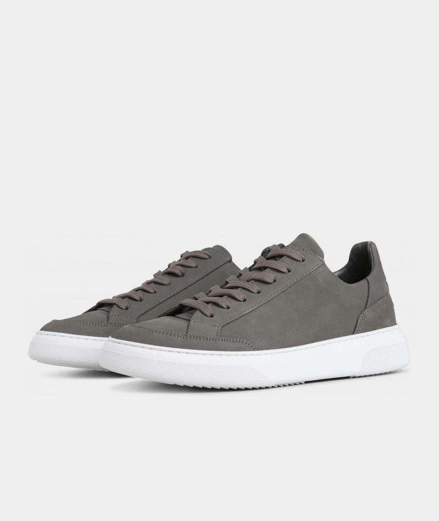GARMENT PROJECT MAN Off Court - Grey Nubuck Shoes 400 Grey