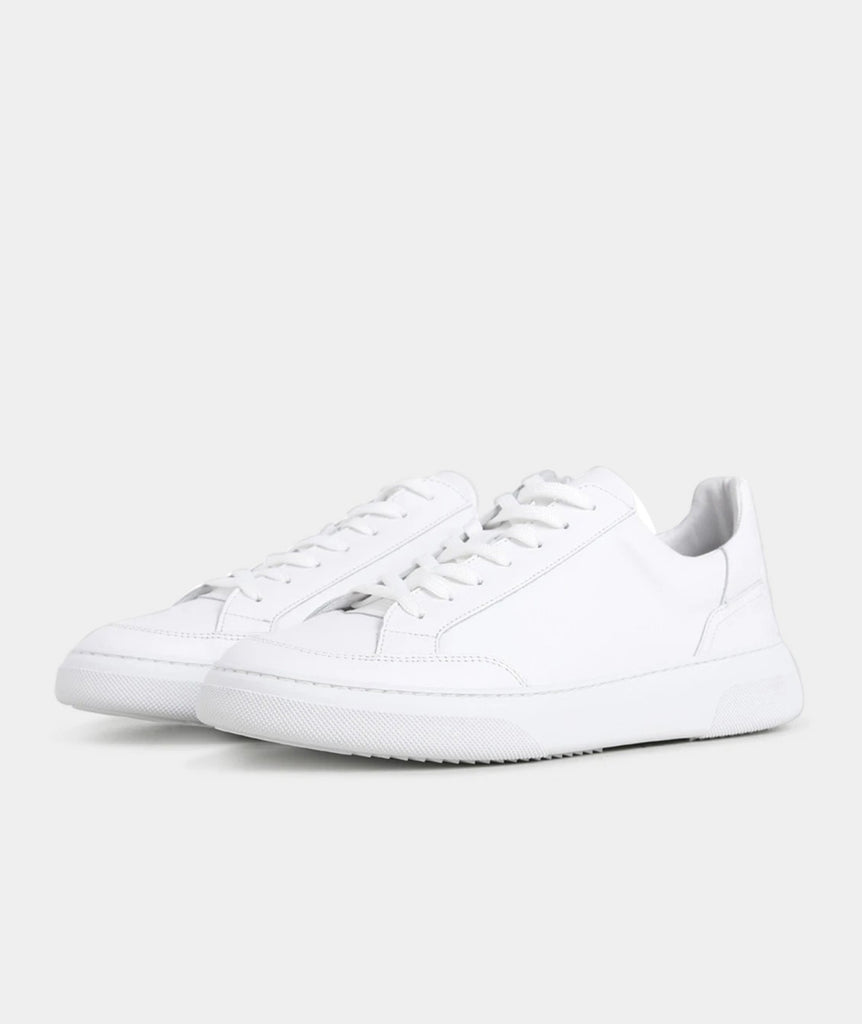 GARMENT PROJECT MAN Off Court - White Leather Shoes 100 White
