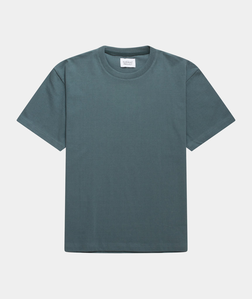 GARMENT PROJECT MAN S/S OverSize Tee - Balsam Green T-shirt