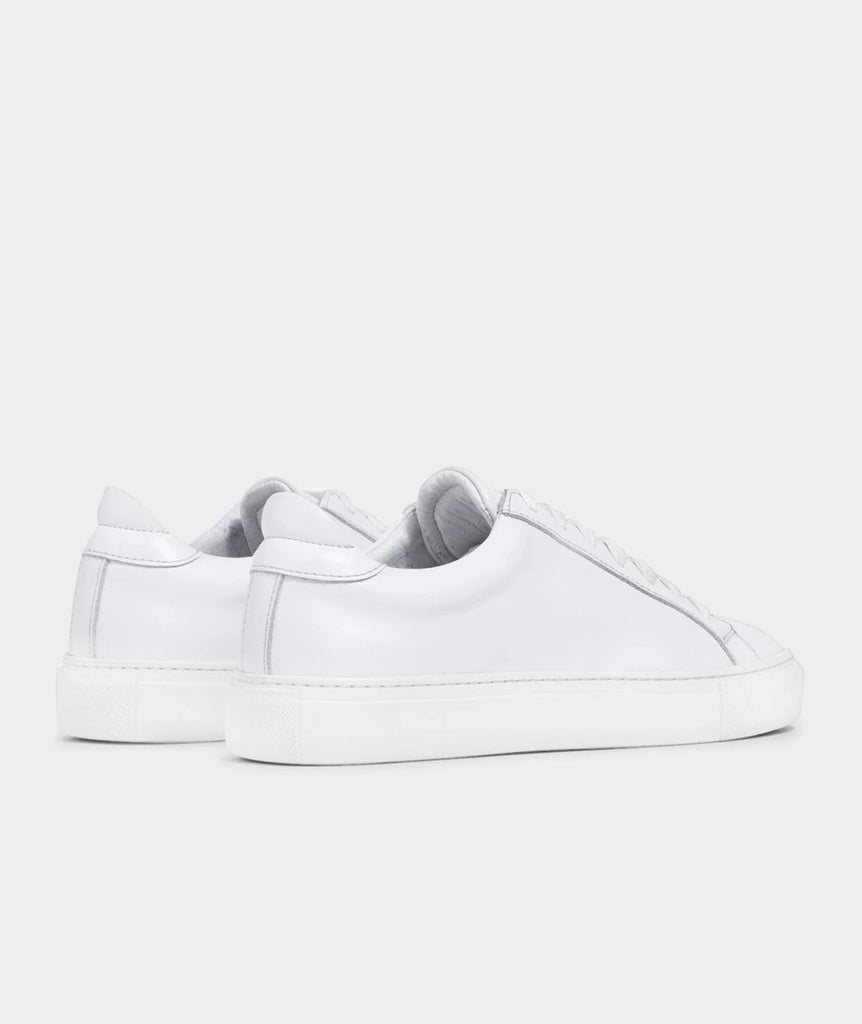 GARMENT PROJECT WMNS Type - White Leather Shoes 100 White
