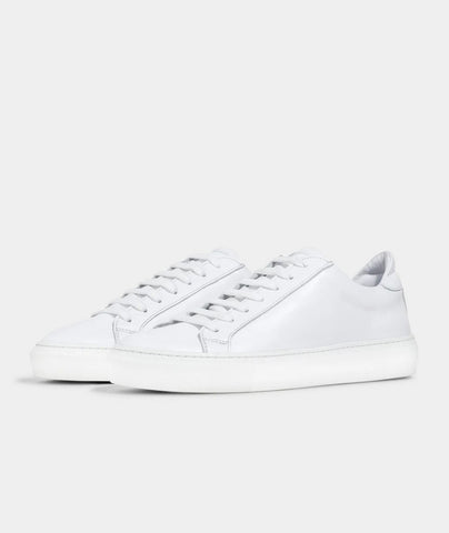 Type - White Leather