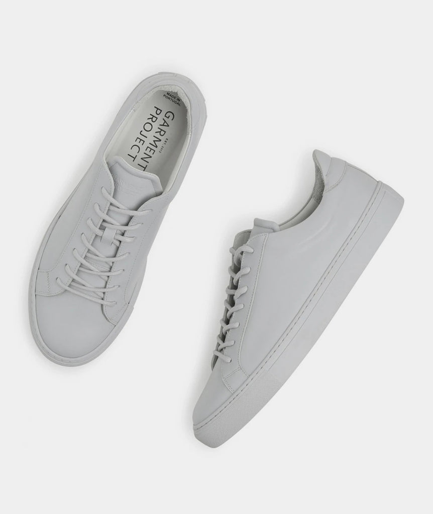 GARMENT PROJECT MAN Type Lux - Light Grey Leather Shoes 410 Light Grey