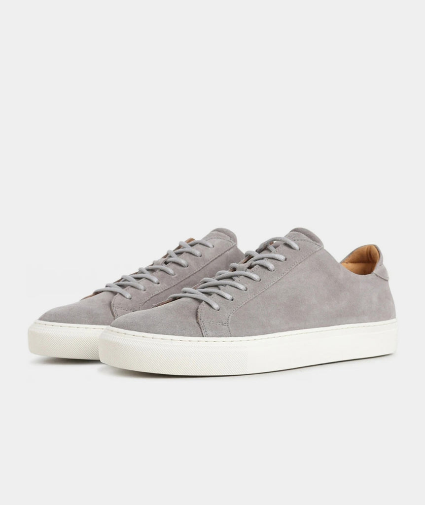 GARMENT PROJECT MAN Type Lux - Light Grey Suede Shoes 110 Off White