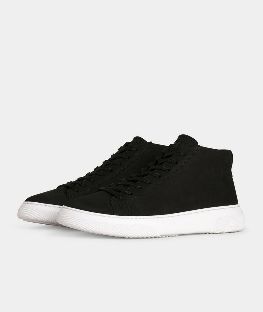 GARMENT PROJECT MAN Type Mid - Black Nubuck Mid Cut 999 Black
