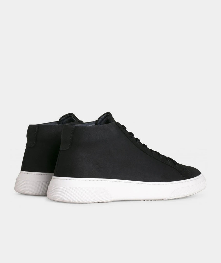 GARMENT PROJECT MAN Type Mid - Navy Nubuck Mid Cut 500 Navy