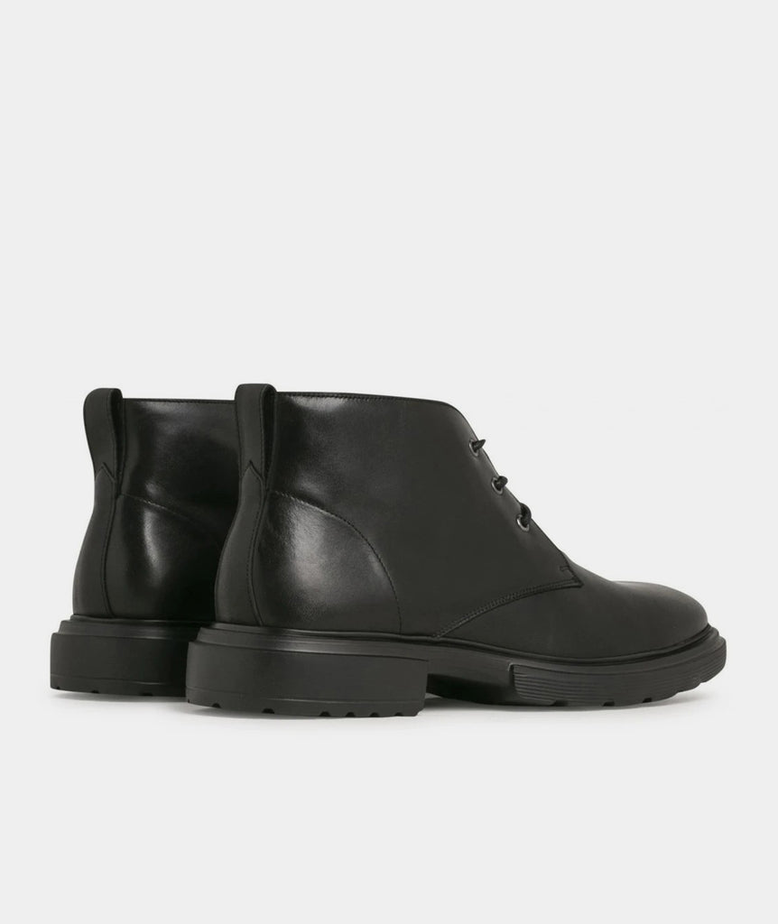 GARMENT PROJECT MAN Willy Desert - Black Leather Shoes 999 Black