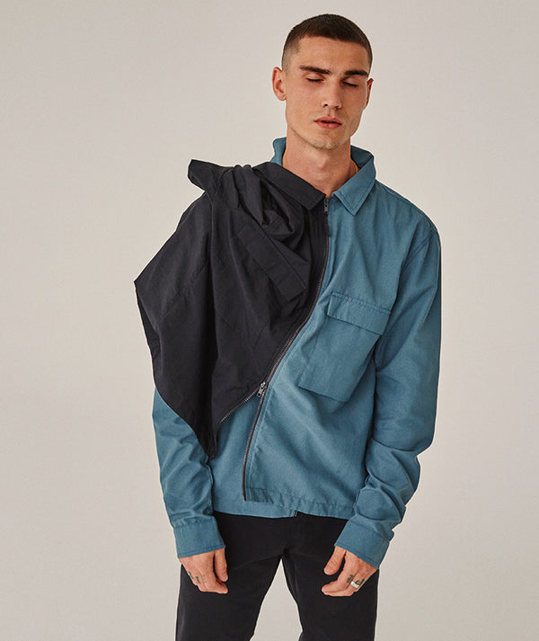 Zip Overshirt - Brain