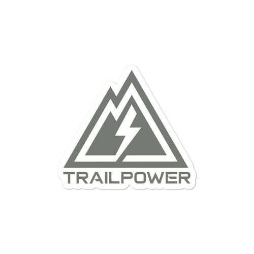 Trailpower Stickers in OD Green - TRAILPOWER