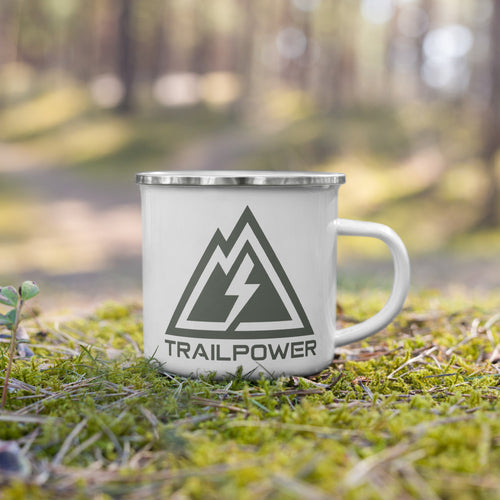 Trailpower Enamel Mug - TRAILPOWER