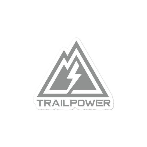 Trailpower Stickers in Stealth Grey - TRAILPOWER