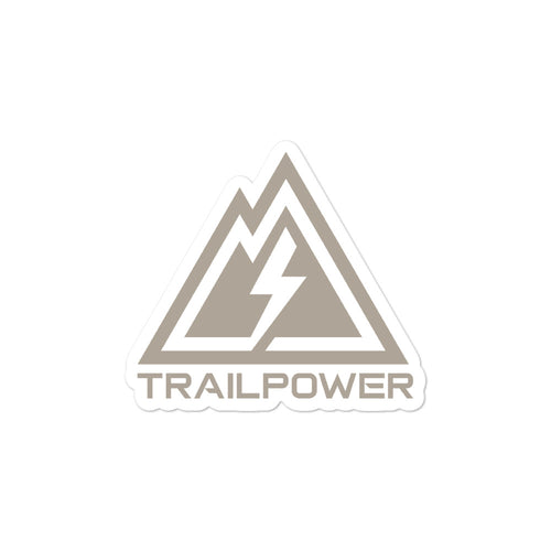Trailpower Stickers in FDE - TRAILPOWER