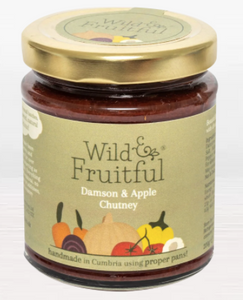 Wild and Fruitful Damson & Apple Chutney