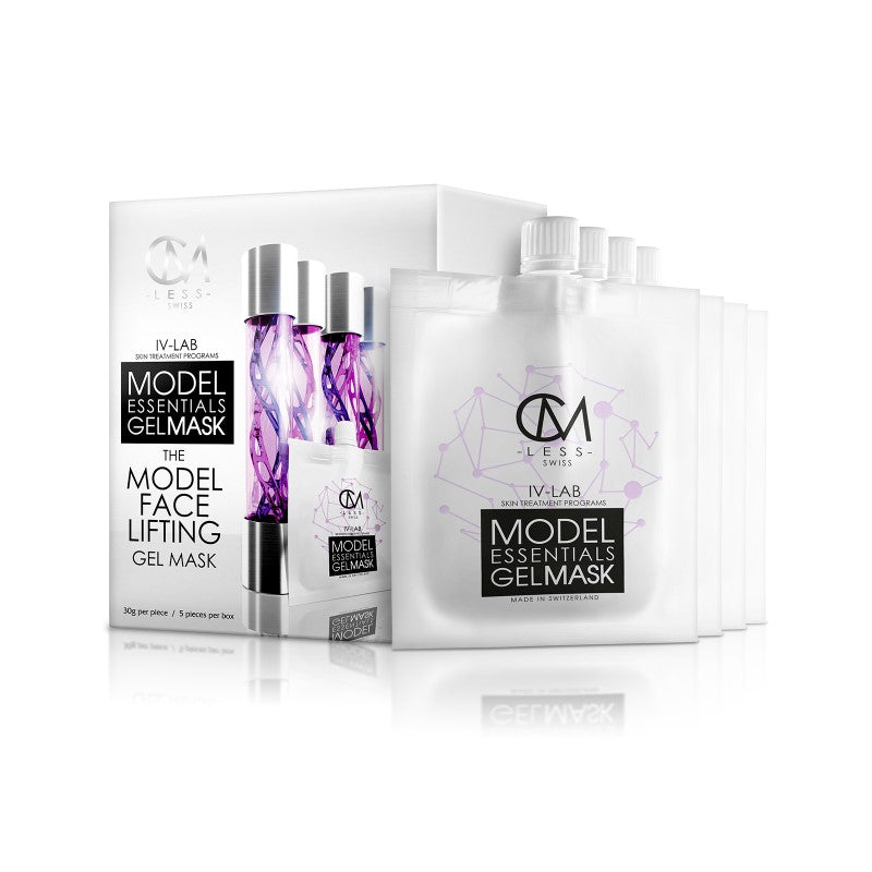 Model Essentials Gel Mask- The Model Face Lifting Gel Mask 瘦面提升水凝面膜
