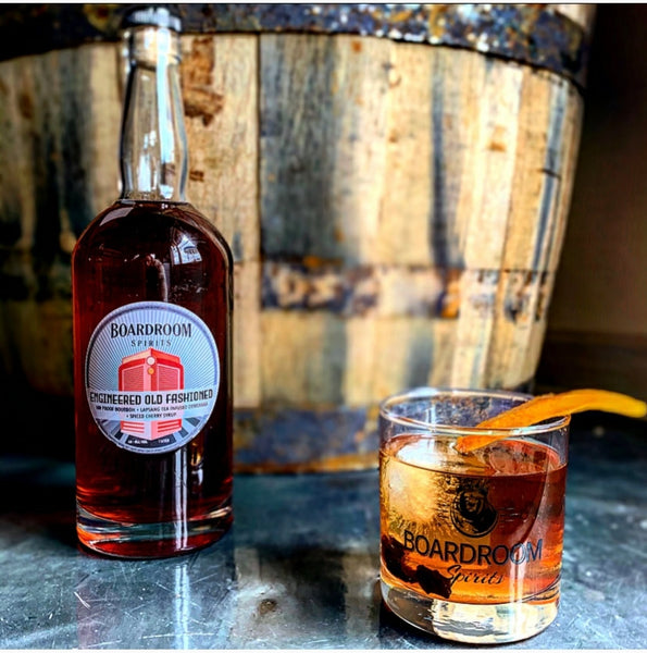 Philadelphia Liquor Delivery -  Engineered Old Fashioned from Boardroom Spirits