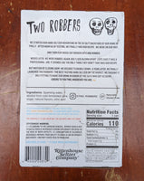 Two Robbers Craft Hard Seltzer - Peach Berry, 6 pack of 12oz Cans - 5.2% ABV