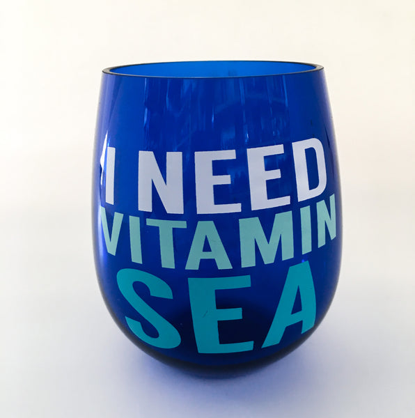 Vitamin Sea Wine Tumbler