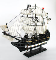Large Black Pirate Ship