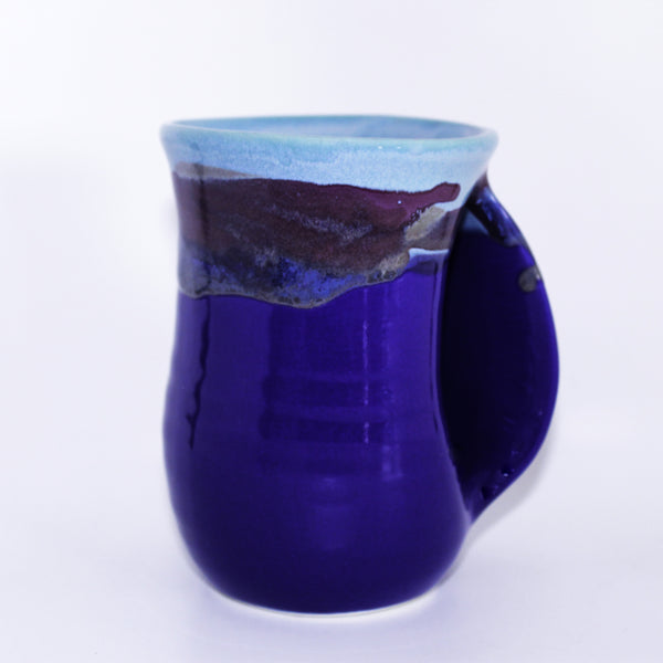 Lake Superior Handwarming Mug Blue